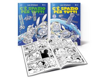 Media Key C E Spazio Per Tutti La Graphic Novel Di Leo Ortolani Con Rat Man E L Astronauta Paolo Nespoli Con La Gazzetta Dello Sport E Corriere Della Sera
