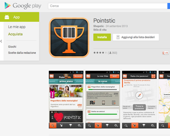 """24418b52f1 Pointstic® – l'innovativa App sviluppata e realizzata dalla startup  milanese Pointstic Srl che """"premia"""" i consumatori per azioni legate allo  shopping – si ..."""