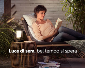 Illuminazione Esterna Campagna : Media key philips lighting lancia la nuova campagna u cluce di sera
