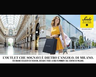 """d4336e6960 Scalo Milano, l'unico outlet cittadino a quindici minuti dal centro,  diventa """"Outlet & More"""" e comunica il nuovo posizionamento attraverso una  nuova ..."""